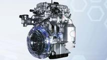 Hyundai i10 blue CNG engine