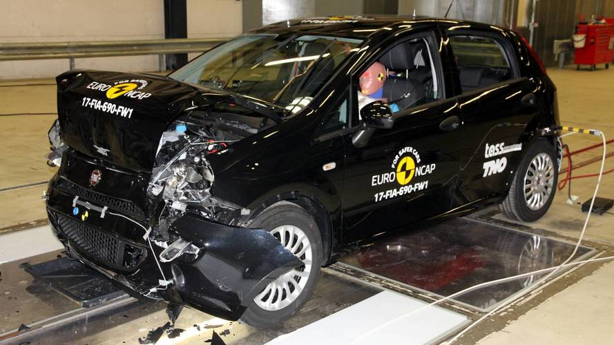 It's a car crash – Fiat Punto first to get no stars on Euro NCAP