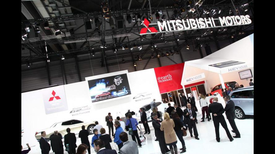 Mitsubishi al Salone di Ginevra 2013