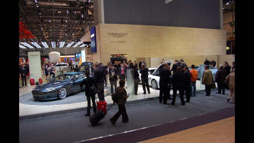 Aston Martin a Ginevra