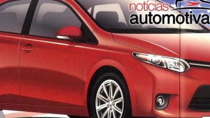 2014 Toyota Corolla leaked ?