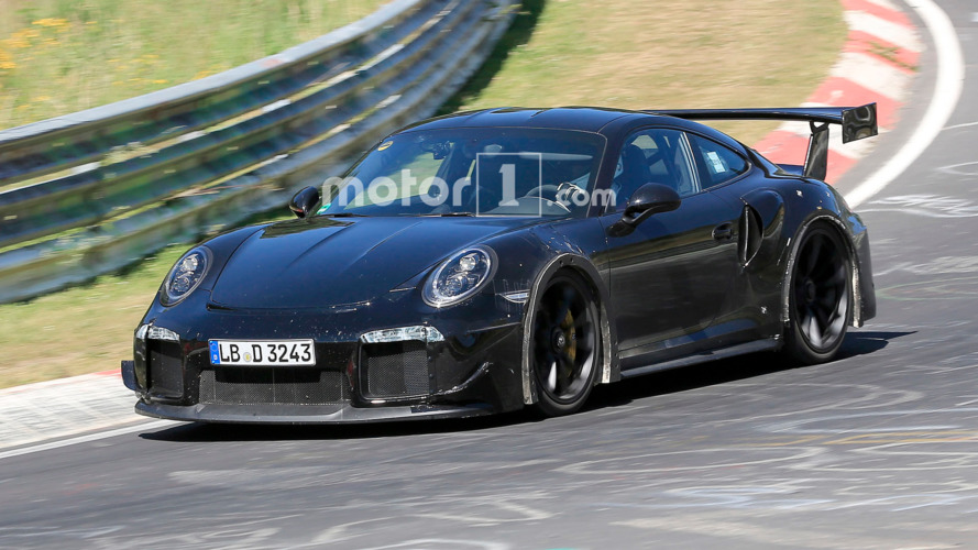 Next Porsche 911 GT2 gets a workout on the 'Ring