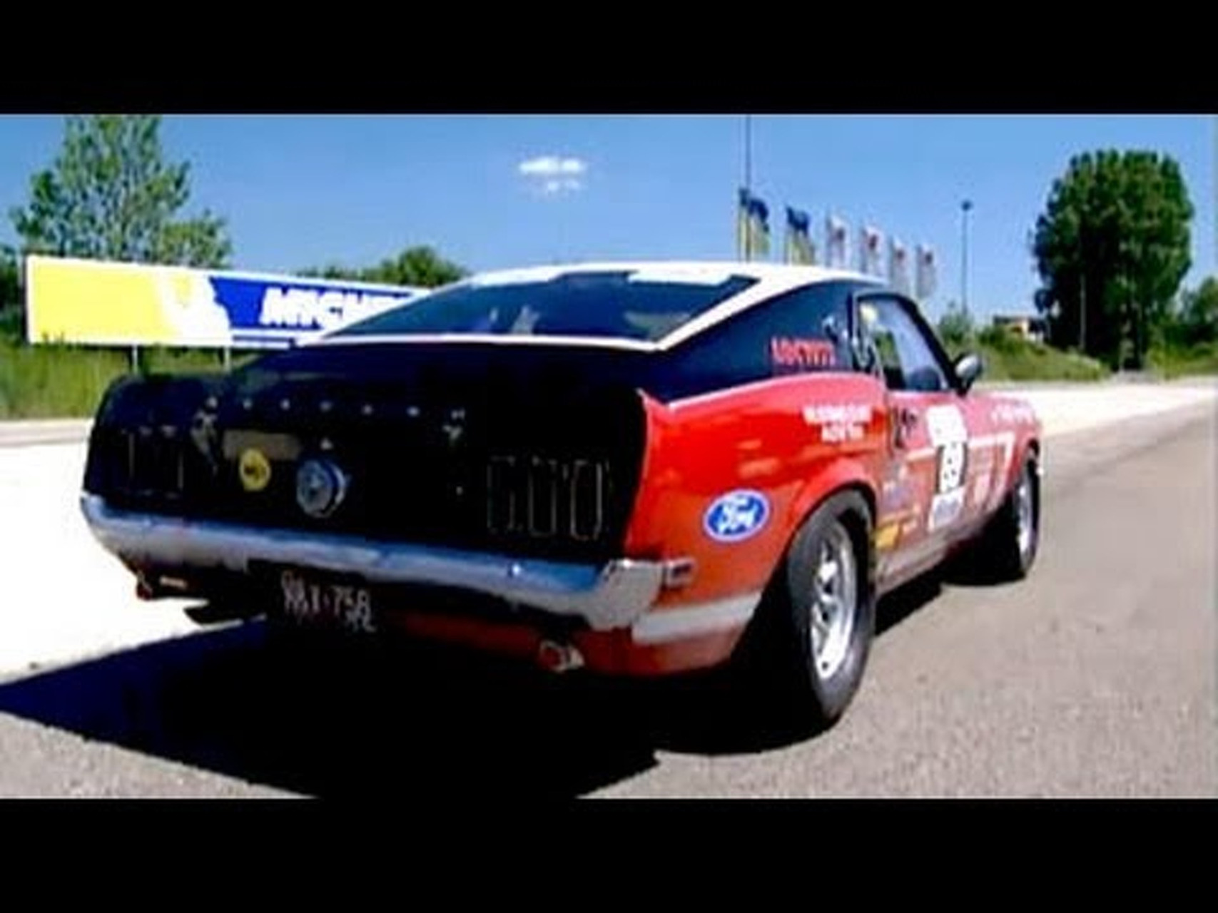 Tracktest Ford Mustang Boss 302