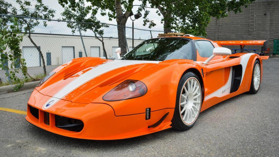 Ultra-rare Maserati MC12 Corsa for sale in Canada at nearly $2M