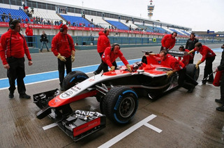 Formula 1 Race Car Shut Down by Computer Virus