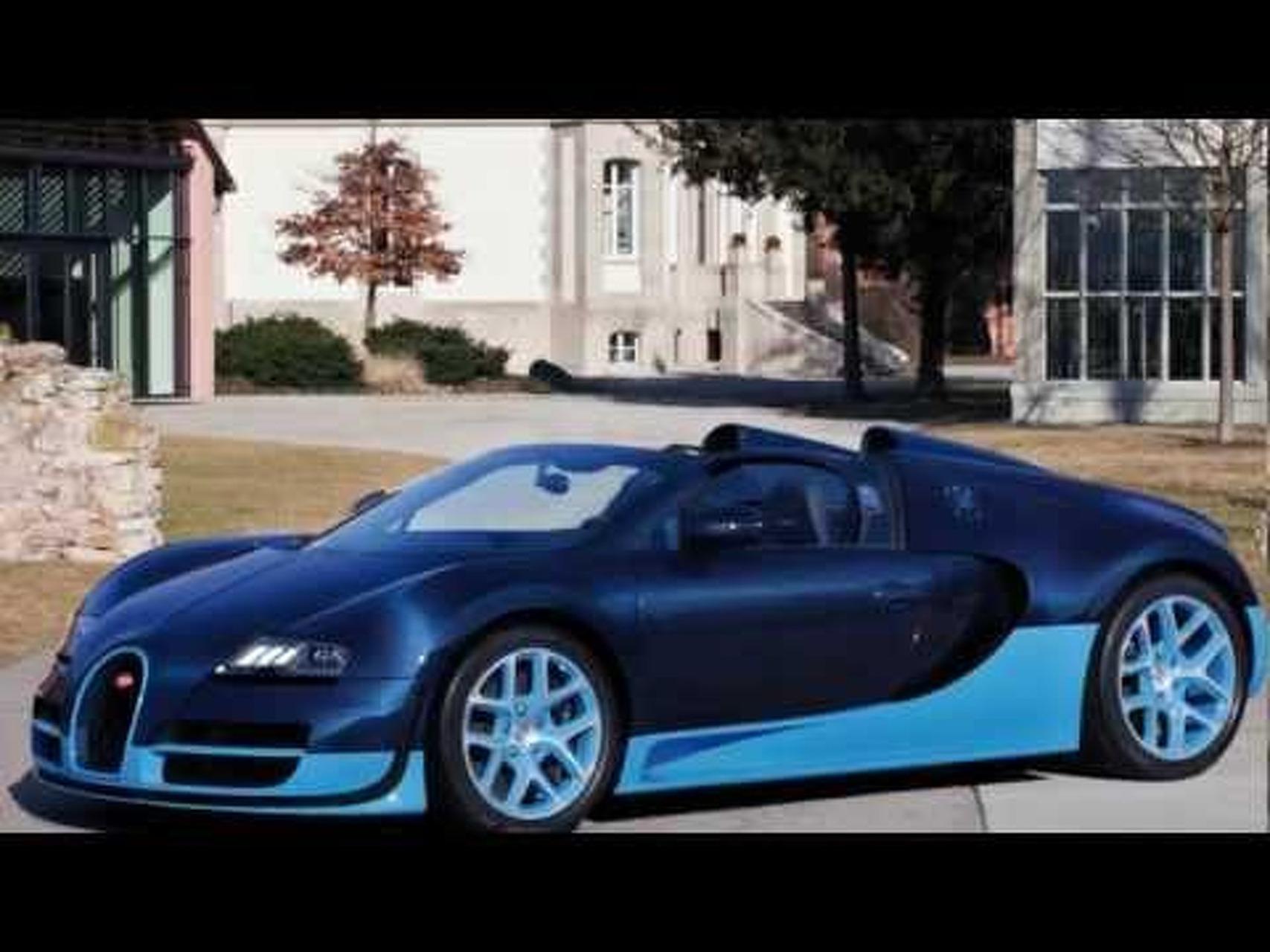 Bugatti Veyron Grand Sport Vitesse - 2012 HD