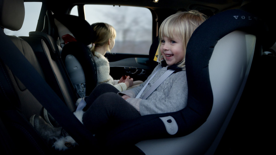 Volvo makes new child seats safer & more comfortable