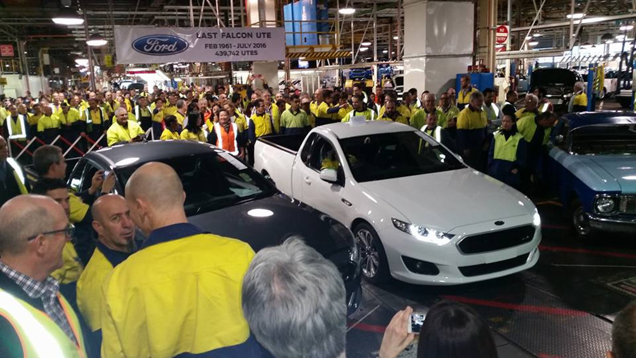 Ford Ends Falcon Ute