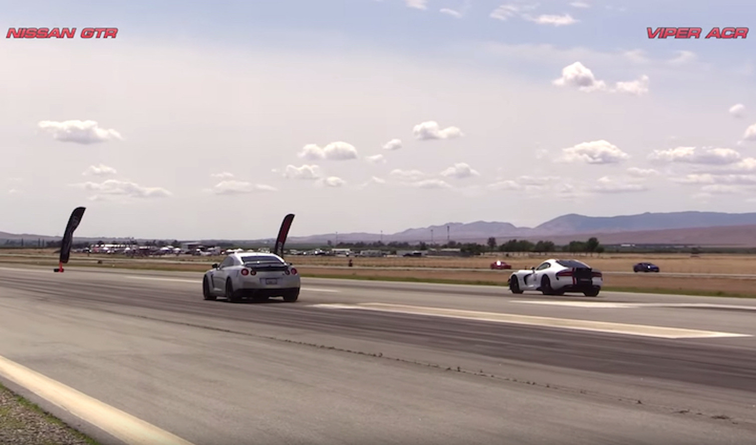 Nissan GT-R vs Dodge Viper ACR Keeps the Rivalry Alive