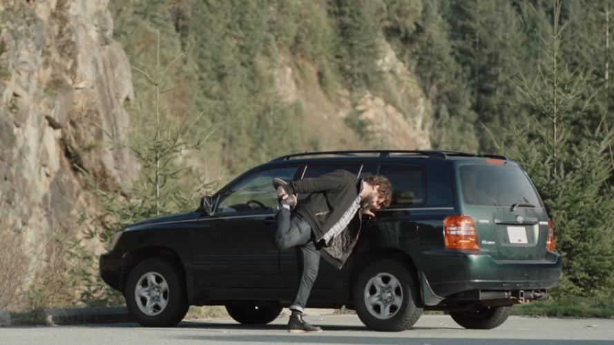 Video shows Canadian man's epic 1,200-mile commute