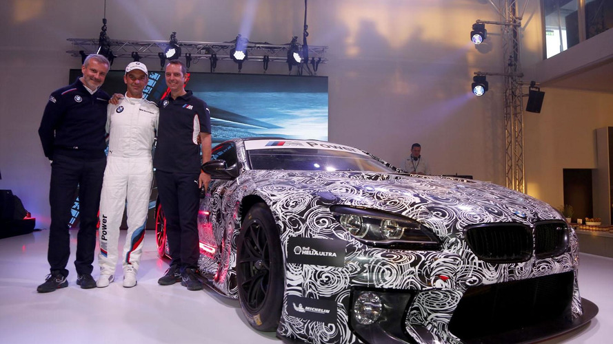 BMW M6 GT3 arrives at the M Festival