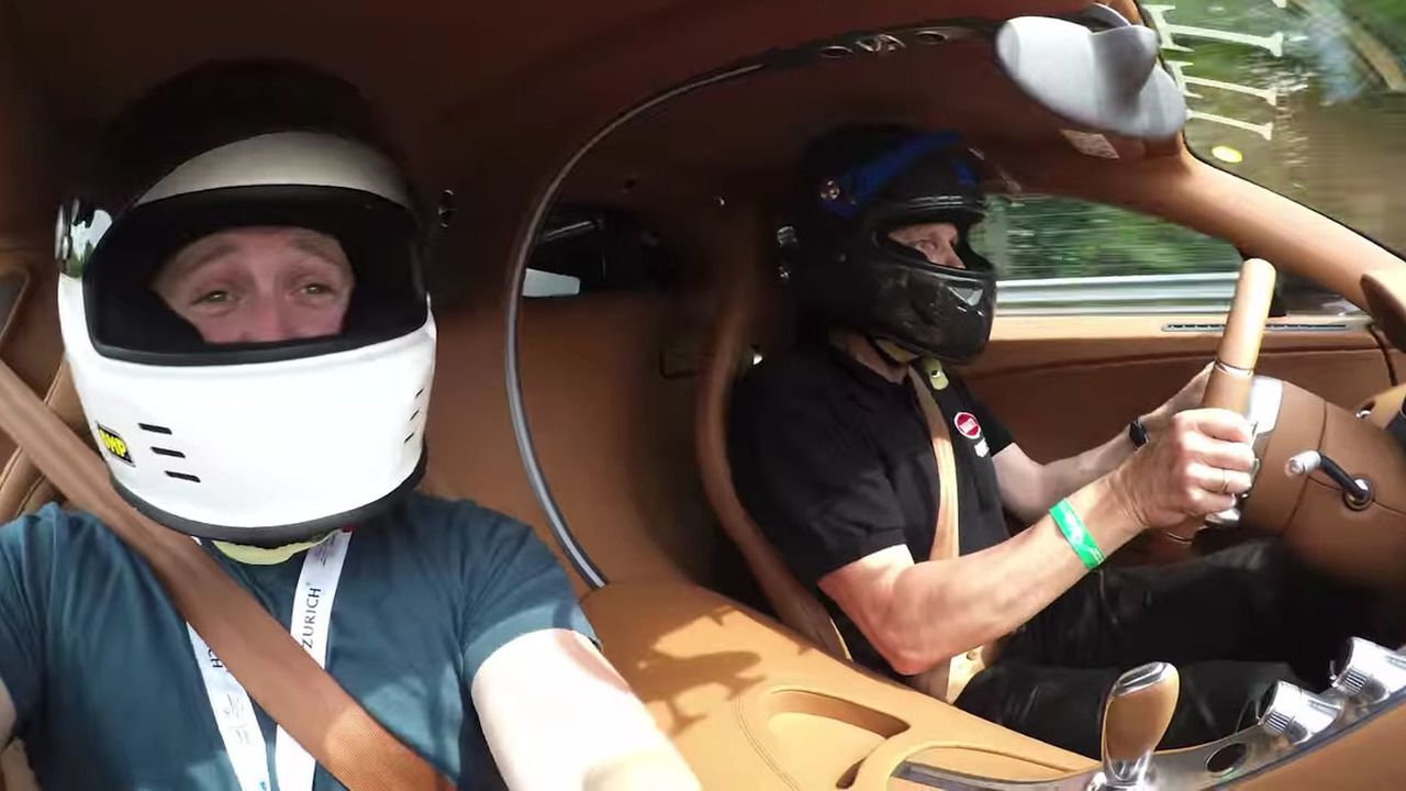 Bugatti Chiron on Nurburgring