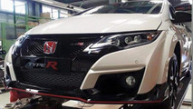 Honda Civic Type R production version spy photo