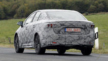 2016 Toyota Avensis spied near the Nurburgring