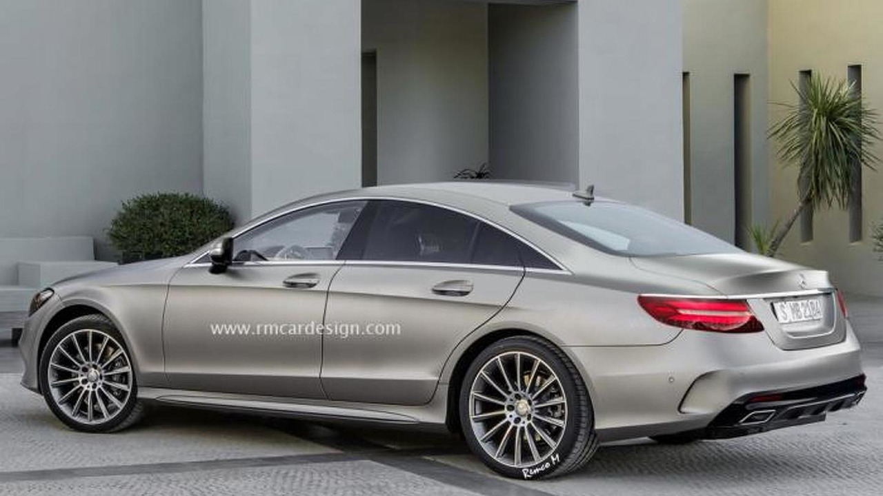 third generation mercedes benz cls speculatively rendered. Black Bedroom Furniture Sets. Home Design Ideas