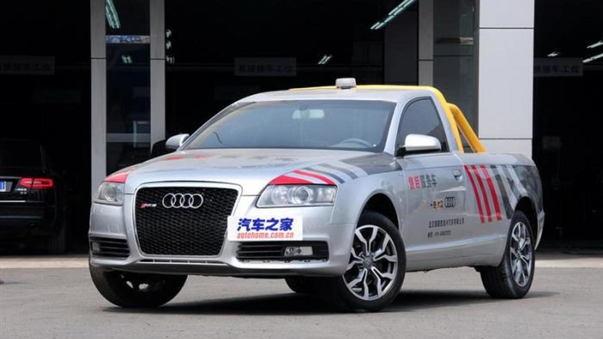 Неофициальный пикап Audi A6