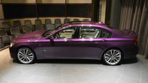 BMW 760Li painted in Twilight Purple is a sight to behold (20 pics)