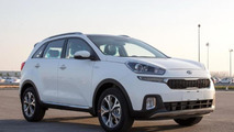 Production Kia KX3 spied without camouflage