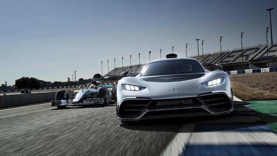 Mercedes-AMG Project One Monako'da yakalandı