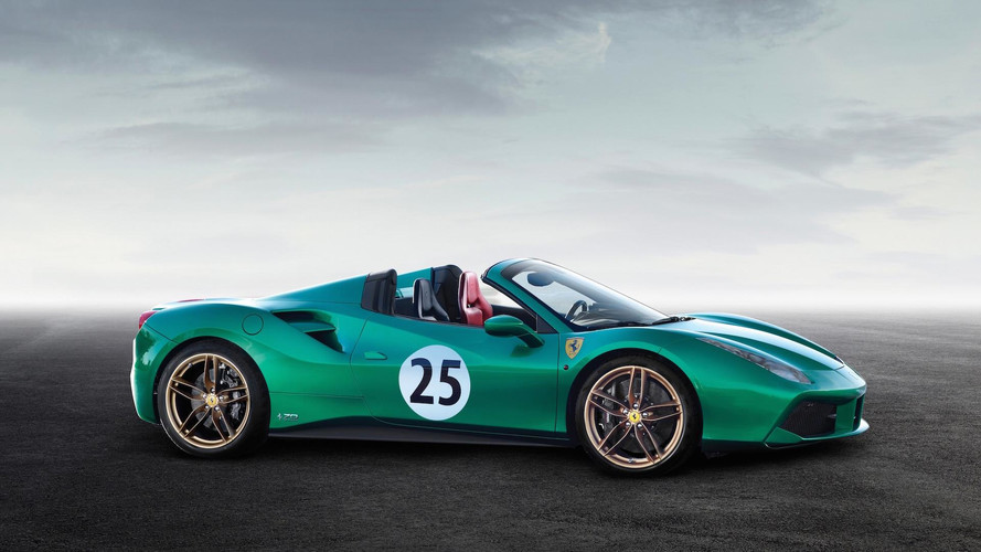 Ferrari 488 Spider 'Green Jewel' Sells For A Whopping $1.3M [UPDATE]