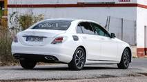Mercedes-Benz C-Class Refresh Spy Photos