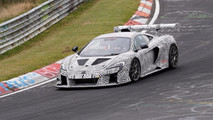 McLaren 675LT Race Car Spy Photos