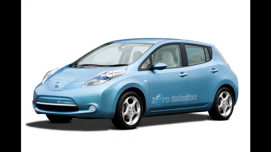 Nissan LEAF: 1,4 mld di dollari per produrla