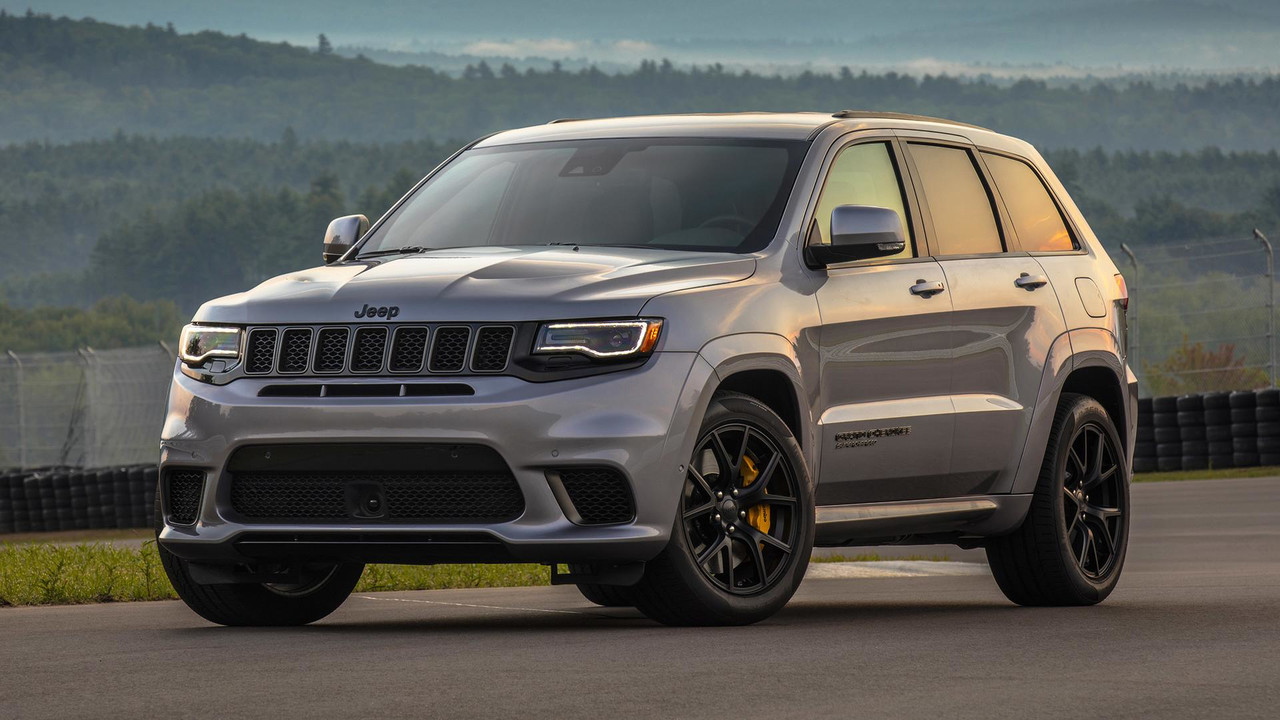 Track Hawk Grand Cherokee >> 2018 Jeep Grand Cherokee Trackhawk First Drive: Hellcat All The Things
