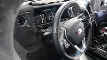 Rolls-Royce Cullinan casus fotoğrafları - iç mekân
