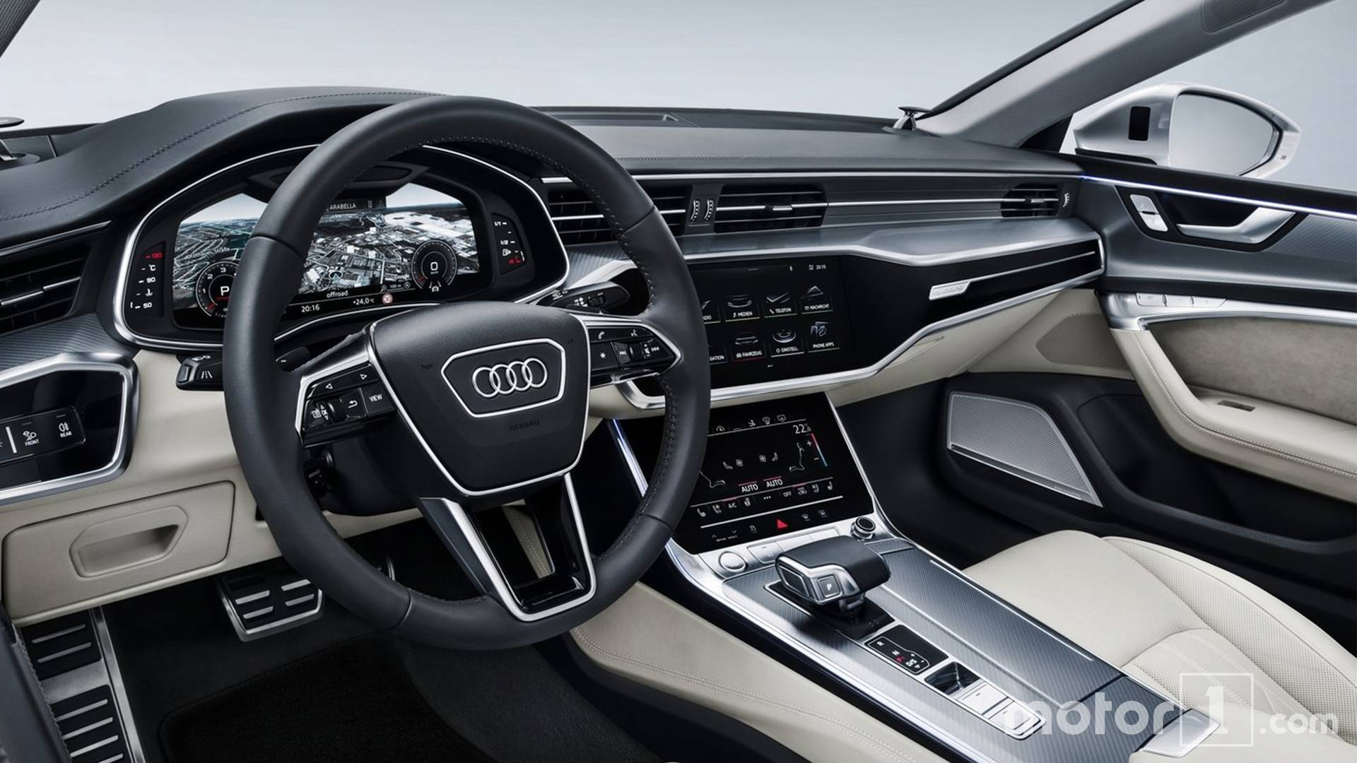 See the 2018 Audi A7 side-by-side with the old model