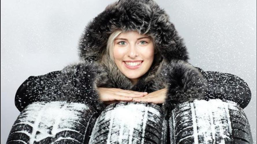 Pneumatici invernali, catene e calze da neve: tutte le info