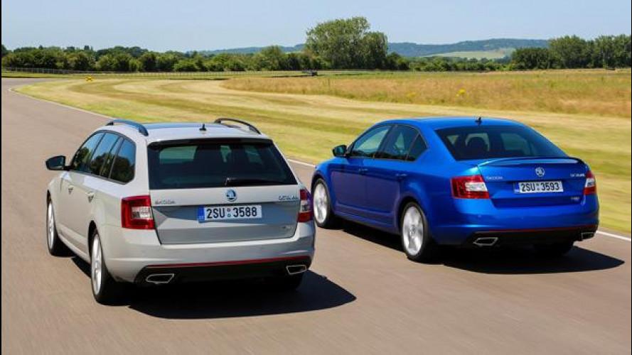 Nuova Skoda Octavia RS e Octavia Wagon RS: i prezzi