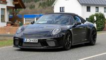 Porsche 911 Speedster Spy Photos