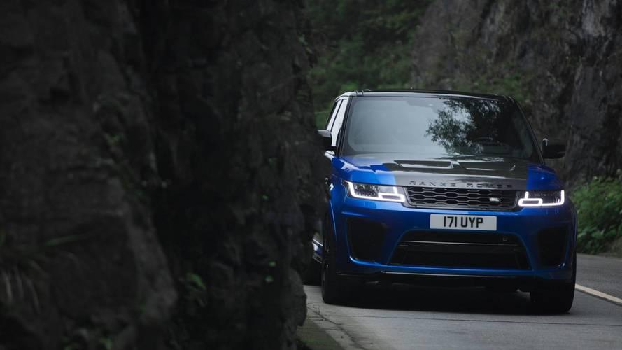 Kínában döntött rekordot a Range Rover Sport SVR