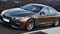 2013 BMW M6 GranCoupe rendering 19.1.2012