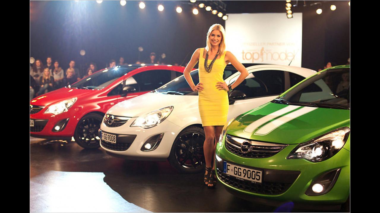 Lena Gercke: Opel Corsa