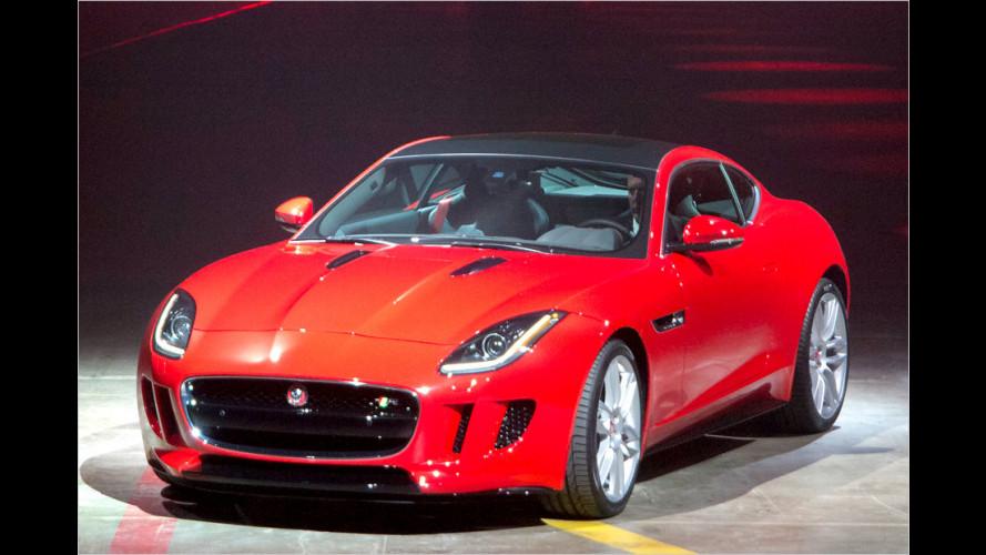 Jaguar F-Type Coupé ist da