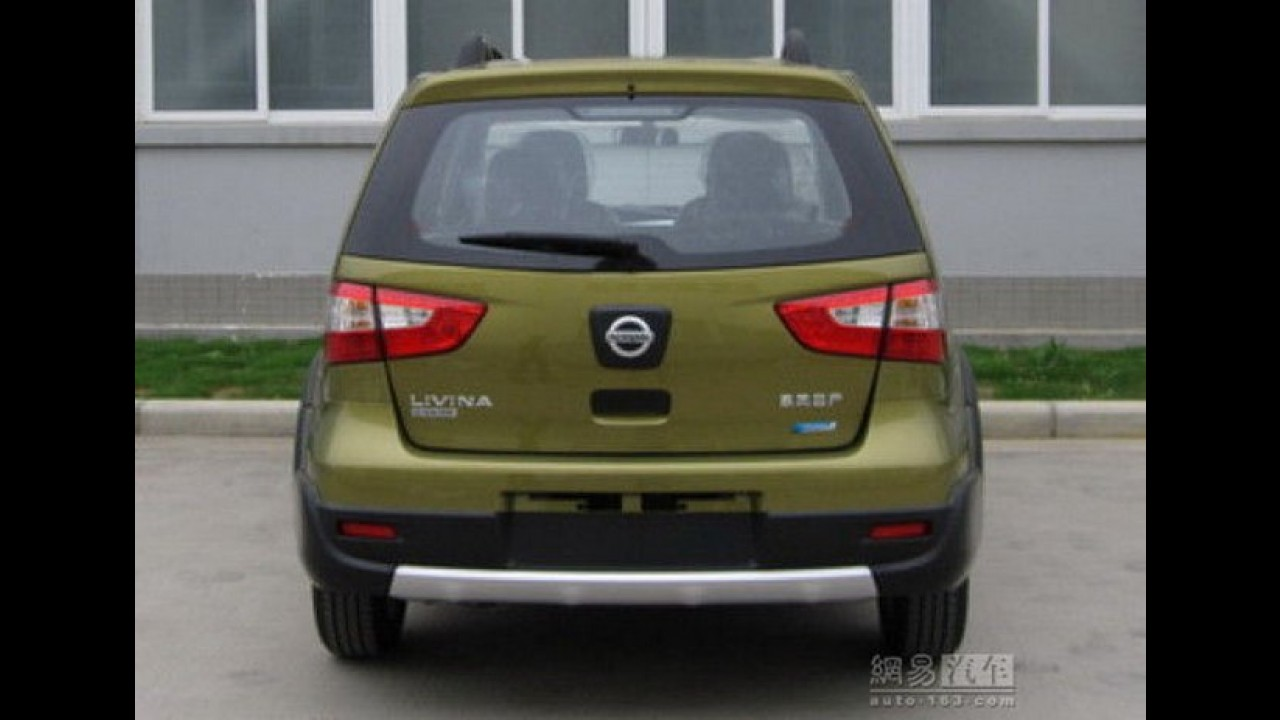 Nissan Livina reestilizado será lançado na China em março de 2013 com câmbio CVT