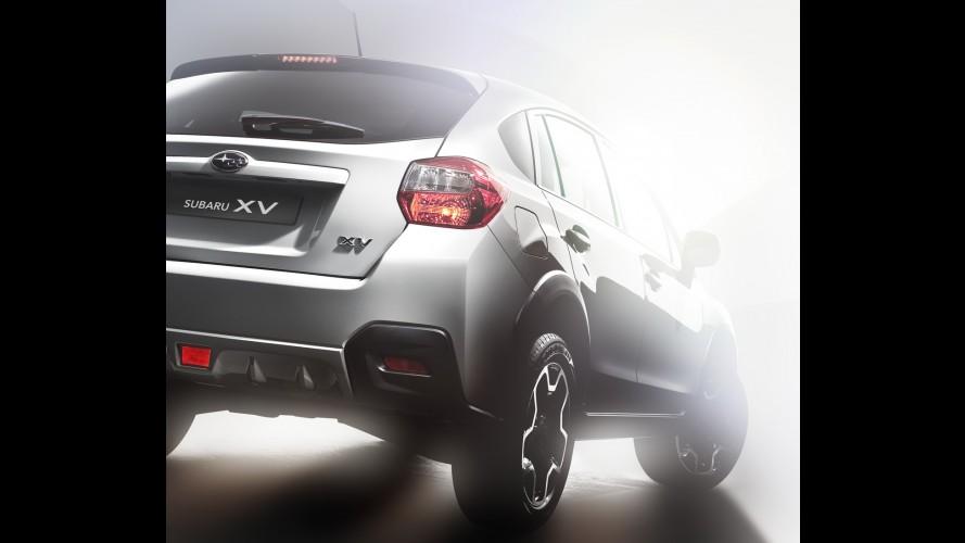 Pré-Frankfurt: Versão de produção do Subaru XV aparece em primeira imagem oficial