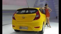Hyundai Accent hatch é apresentado na China