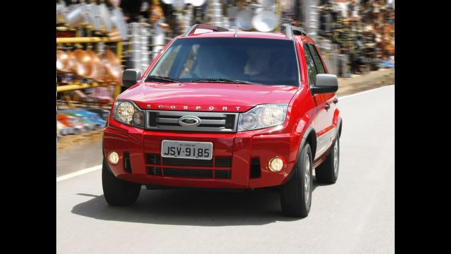Ford anuncia Recall para EcoSport e Fiesta para mais de 300 mil unidades