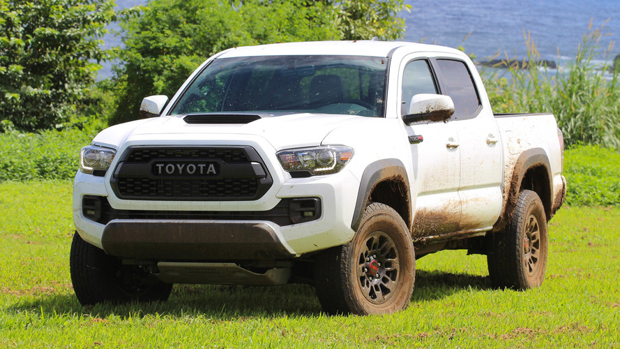Toyota Recalls 228K Tacomas For Leaking Diff That Could Seize