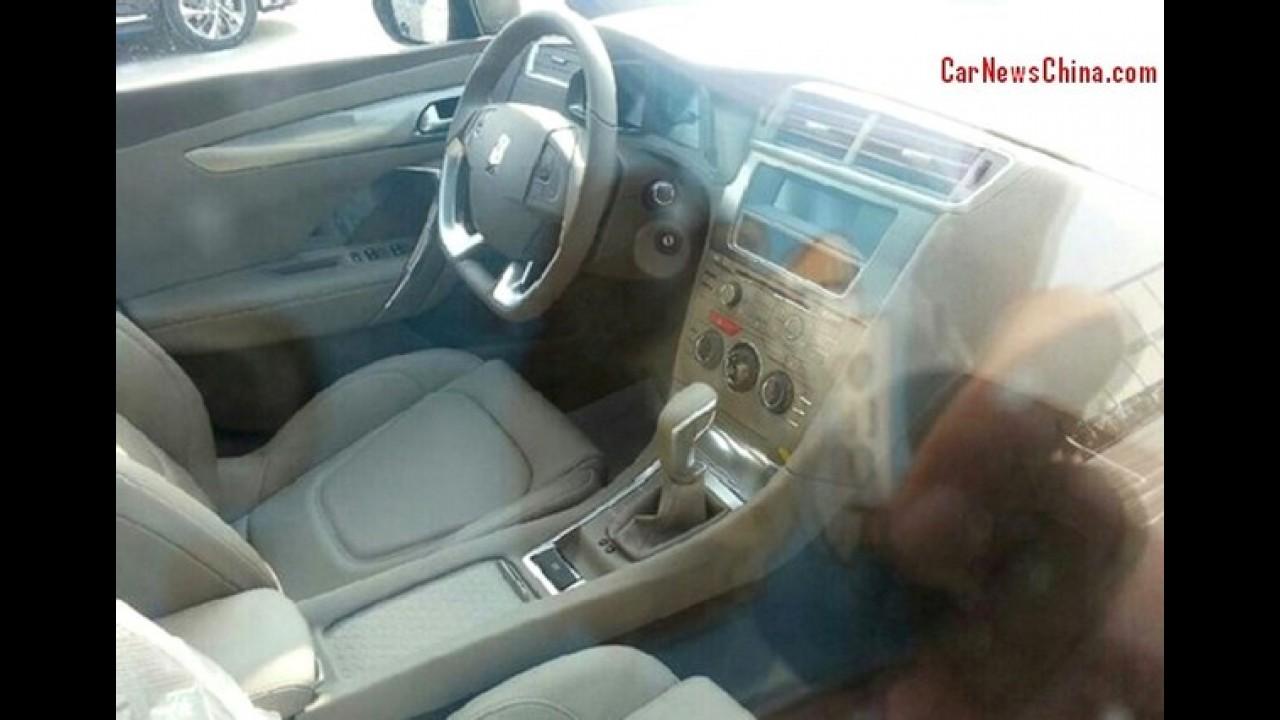 Citroën DS 5LS é revelado sob todos os ângulos em flagra na China