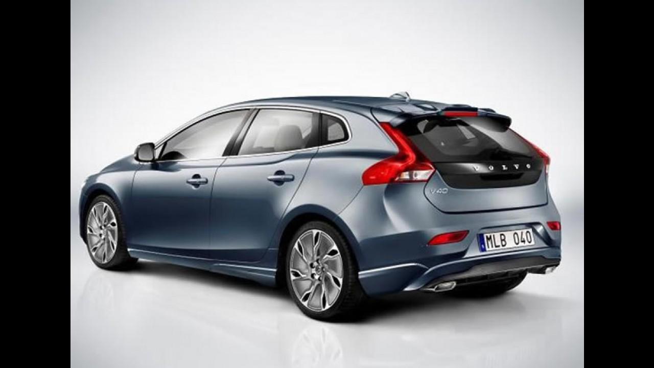 Vazou: Novo Volvo V40 é revelado por completo