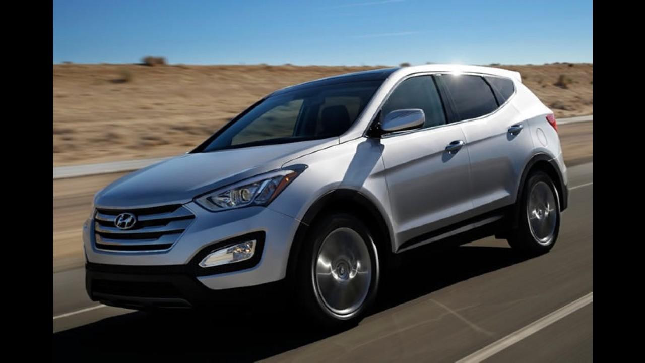 Jeito de Kia? Hyundai apresenta novo Santa Fe Sport no Salão de Nova York