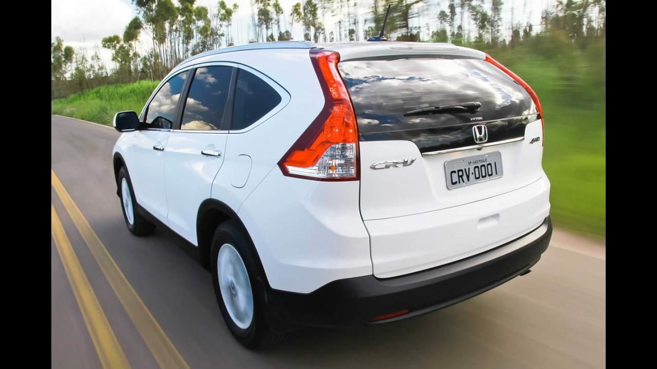 Honda CR-V ganha versão EXL com tração 2WD e preço de R$ 109.900