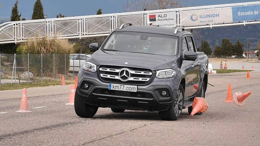 Vídeo: Mercedes-Benz Classe X vai bem no temido Teste do Alce