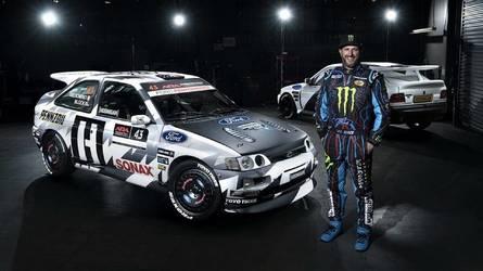 Végleges formájában tündököl a Ken Block által felkarolt Ford Escort RS Cosworth