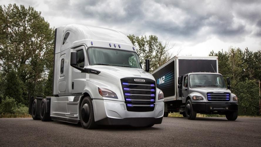 Daimler - Deux camions 100% électriques présentés