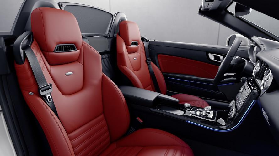 2017 Mercedes SLC RedArt Edition et SL designo Edition